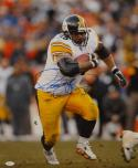 Jerome Bettis Autographed Steelers 16x20 Vertical With Ball Photo- JSA W Auth