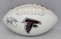 Jamal Anderson Autographed Atlanta Falcons Logo Football- JSA Witnessed Auth