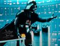 David Prowse Autographed Darth Vader 16x20 Star Wars Blue Photo- JSA W Auth