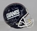 1986 New York Giants Super Bowl Champs Combo Autographed F/S Helmet- JSA W Auth