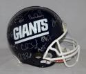 1986 New York Giants SB Champs Combo Signed F/S Proline Helmet- JSA W Auth