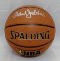 Kareem Abdul-Jabbar Signed *Silver Official NBA Spalding Basketball- PSADNA Auth