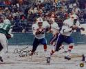 O. J. Simpson Signed Buffalo Bills 16x20 Running Against Jets Photo- PSADNA Auth