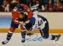Tom Wilson Autographed Washington Capitals 8x10 Fighting Photo- JSA W Auth