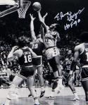 Elvin Hayes Autographed Washington Bullets 8x10 Rebound Photo W/ HOF- JSA W Auth