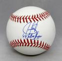Juan Gonzalez Autographed Rawlings OML Baseball With Silver Slugger- JSA W Auth