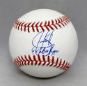 Juan Gonzalez Autographed Rawlings OML Baseball With Silver Slugger- JSA W Auth
