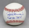 Ron Hansen Autographed Rawlings OML Baseball With AL ROY and JSA Witnessed Auth