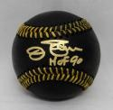 Jim Palmer Autographed Rawlings OML Black Baseball With HOF- JSA Witnessed Auth