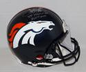 Terrell Davis Signed Denver Broncos F/S ProLine Helmet W/ SB MVP- JSA W Auth