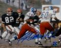 Floyd Little Autographed Broncos 8x10 Rushing Photo- The Jersey Source Auth