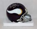 Carl Eller Signed Minnesota Vikings Mini Helmet W/ HOF- The Jersey Source Auth