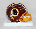Charles Mann Autographed Washington Redskins Mini Helmet- The Jersey Source Auth