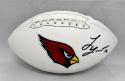 Tyrann Mathieu Autographed Arizona Cardinals Logo Football- PSA/DNA Authenticated