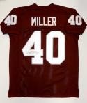 Von Miller Autographed Maroon College Style Jersey- JSA Witnessed Auth