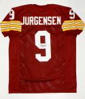 Sonny Jurgensen Autographed Maroon Pro Style Jersey W/ HOF- JSA Witnessed Auth