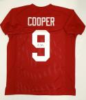 Amari Cooper Autographed Maroon College Style Jersey- JSA Witnessed Auth