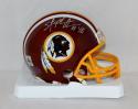 Stephen Davis Autographed Washington Redskins Mini Helmet- The Jersey Source Auth