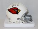 Patrick Peterson Autographed Arizona Cardinals Mini Helmet- JSA W Authenticated