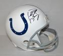 Peyton Manning Autographed Indianapolis Colts F/S Helmet- JSA Witnessed Auth