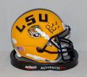 Patrick Peterson Autographed LSU Tigers Schutt Mini Helmet- JSA Witnessed Auth