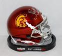 Marcus Allen Autographed USC Trojans Schutt Mini Helmet W/ Heisman- JSA W Auth