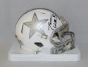 Jason Witten Autographed Dallas Cowboys ICE Mini Helmet- JSA Witnessed Auth