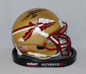 Sebastian Janikowski Autographed Florida State Seminoles Mini Helmet- JSA W Auth