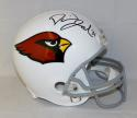 David Johnson Autographed Arizona Cardinals Full Size Helmet- JSA Witnessed Auth