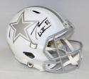 Jason Witten Autographed Dallas Cowboys Full Size ICE Speed Helmet- JSA W Auth
