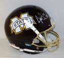 Dak Prescott Autographed Full Size Mississippi State Egg Bowl Helmet- JSA W Auth