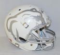 Dak Prescott Autographed F/S Mississippi State Bulldogs White Helmet- JSA W Auth