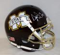 Dak Prescott Signed Mississippi State F/S Egg Bowl Authentic Helmet- JSA W Auth