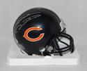 Mike Ditka Autographed Chicago Bears Mini Helmet- JSA Witnessed Authenticated