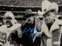 Earl Campbell HOF Signed Houston Oilers 8x10 With Bum Phillips Photo- JSA W Auth
