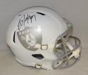Bo Jackson Autographed Oakland Raiders Full Size Speed ICE Helmet- JSA W Auth