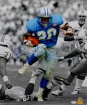 Barry Sanders Signed Detroit Lions 16x20 Vertical Running PF. Photo- JSA W Auth