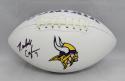 Randall Cunningham Autographed Minnesota Vikings Logo Football- JSA W Auth