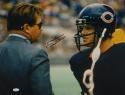 Mike Ditka Autographed *Blk Chicago Bears 16x20 W/ Jim McMahon Photo- JSA W Auth
