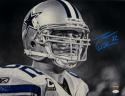 Jason Witten Autographed Dallas Cowboys 16x20 B&W Close Up Photo- JSA W Auth