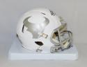 JJ Watt Autographed Houston Texans ICE Alternate Mini Helmet- JSA Witnessed Auth