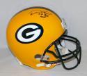Desmond Howard Autographed Green Bay Packers F/S Helmet W/ SB MVP- JSA W Auth