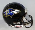 Ray Lewis Autographed Baltimore Ravens F/S ProLine Helmet- JSA Witnessed Auth