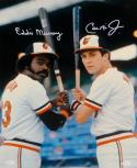 Cal Ripken Jr Eddie Murray Autographed Baltimore Orioles 16x20 Photo- JSA W Auth