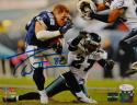 Jason Witten Autographed Dallas Cowboys 8x10 Helmet Off PF. Photo- JSA W Auth