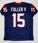 Will Fuller V Autographed Blue Pro Style Jersey- JSA Witnessed Authenticated