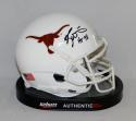 Ricky Williams Autographed Texas Longhorns Schutt Mini Helmet W/ HT- JSA W Auth