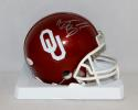 Brian Bosworth Autographed OU Sooners Riddell Mini Helmet- JSA Witnessed Auth