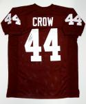 John David Crow Autographed Maroon College Style Jersey- JSA Authenticated