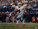 Dak Prescott Autographed *Black Dallas Cowboys 16x20 Pink Shoes Photo-JSA W Auth